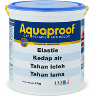 Aquaproof putih Cat Pelapis Anti Bocor 4 Kg