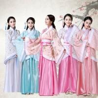 Hanfu Adat China Cina Cheongsam Dress Baju Kostum Tradisi Etnik