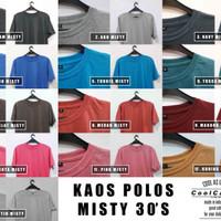 KAOS POLOS MISTY SIZE XL 30'S BANDUNG