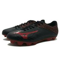 Sepatu Bola Mizuno Basara 103 MD (Black/High Risk/Red)