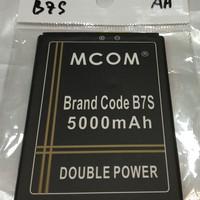 Baterai brand code B7S brandcode B7S mcom 5000mah battery battle batre