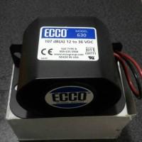 Back Up Alarm Ecco 630, 107 dB 12 - 36 vdc