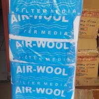 Busa Filter aquarium air wool. Tebal daya serap tinggi.