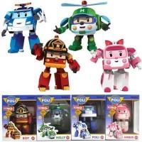 [ISI 4 PCS ] ROBOCAR POLI / MAINAN ROBOT