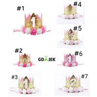 bando mahkota crown untuk bayi dan anak