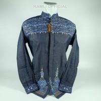 Baju Koko Ramli Katun India Songket 839 Birdong