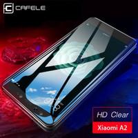 CAFELE TEMPERED GLASS | Xiaomi MiA2 Mi A2 Mi6X Mi 6X FULL COVER 9H HD
