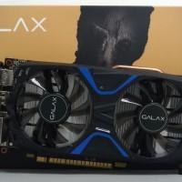 NVidia Geforce GALAX GTX 1050 Ti EXOC EXTREME OVERCLOCK 4GB DDR5 - Dua