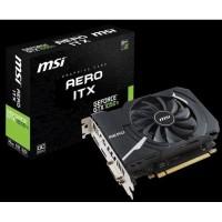 MSI GeForce GTX 1050 Ti 4GB DDR5 - AERO ITX 4G OC (Mini ITX)