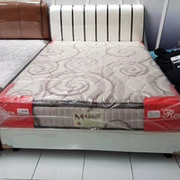Kasur 1 set 160x200 Romance Spring bed Pillow top not elite latex