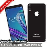 Asus Zenfone Max Pro M1 Premium Skin Garskin for Case iPhone - Black