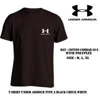 RECOMMENDED BAJU KAOS OBLONG UNDERARMOUR COMBED 30'S PRIA WANITA
