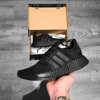 Adidas NMD R1 Full Black