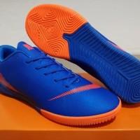 Sepatu Futsal Nike Mercurial Vapor XII Elite Blue Orange