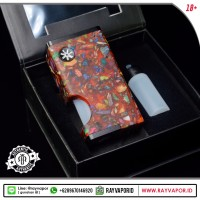 Luna Squonker Box Mod By Asmodus & Ultroner  Red