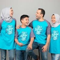 Kaos Muslim Couple Keluarga Baju Muslim Kaos Ayah Size S-XXL