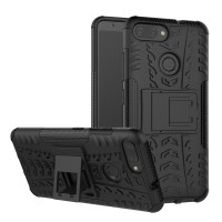 Hard Soft Case Asus Zenfone Max Plus M1 Casing HP Armor Stand Silikon