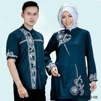 Baju Muslim Coupel Sarimbit Azzura Pria 582-07 & Wanita 582-08