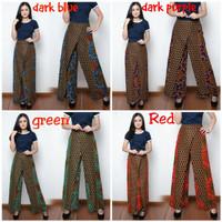 Celana panjang kulot rahayu batik long pants wanita