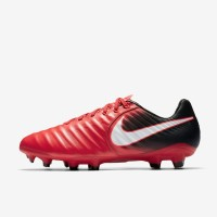 Sepatu Bola Nike Tiempo Legacy III FG Red Original 897748-616