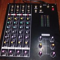 Audio Mixer Lokal 4 channel Rakitan Kit Yamaha 8 Pot
