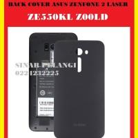 BACK COVER BACK DOOR ASUS ZENFONE 2 LASER ZE550KL Z00LD BLACK 907408