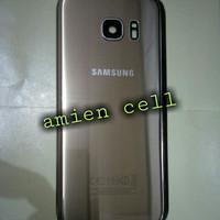 Back Door Back Cover Plus Ring Kaca Kamera Samsung Galaxy S7 Edge