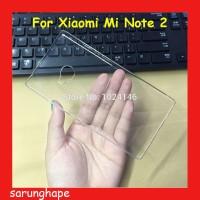 Clear Hard Case Casing Transparan Xiaomi Mi Note 2