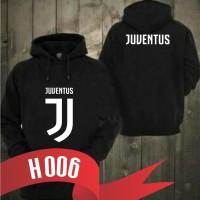 H006 POLOS Jaket Hoodie Bola Sweater Jumper NEw Logo Juve Juventus