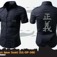 Kemeja Pria Zaman Now Marine One Piece Army Shirt - SA OP 08