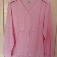 Baju blouse cantik lengan panjang color box original branded