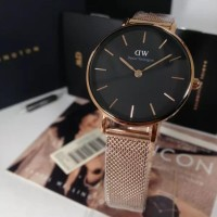 Daniel Wellington DW Classic Petite Melrose 28mm Black Face Original