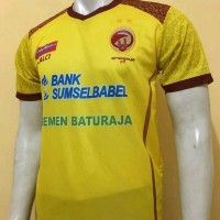 Jersey Baju Bola Sriwijaya FC Palembang Home GRADE ORI Diskon