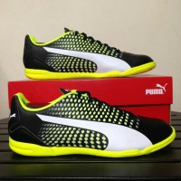 Sepatu Futsal Puma Adreno III IT Black 104047-07 Original BNIB .kod