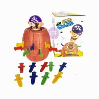 Mainan Anak Jumping PIrate Game Pirates Roulette Family Game No.YF555
