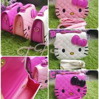 Tas Selempang / Tenteng / Tangan / Hand Bag Glossy Anak Hello Kitty