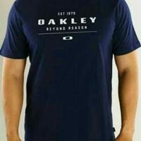 kaos pria oblong t-shirt OAKLEY size m l xl xxl murah bagus