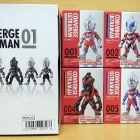 Bandai CONVERGE ULTRAMAN 01 (ALL 6/SET) Geed Zero Orb Tiga Belial