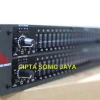 equalizer eq DBX 231 black edition stereo 2 x 31 band