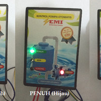 Kontrol Pompa Air Otomatis / Tandon / Toren / Bak Air