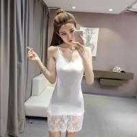 Mini Dress Gaun Sexy White Lace Seductive Import Original