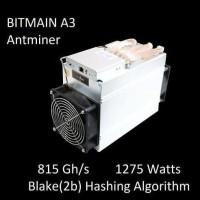 PO Antminer A3 815Gh/s (Blake 2b)