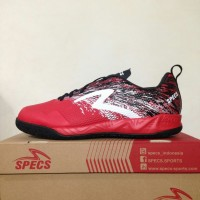 Sepatu Futsal Specs Metasala Warrior Premier Red Black 400779 Original