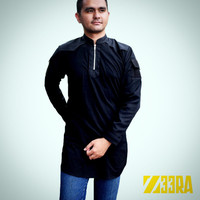 Baju Koko Baju Kurta / Qurta Baju Muslim Pria Semi Tactical Z33RA Ori