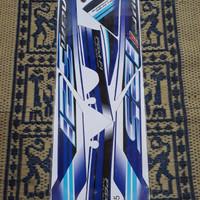 Striping lis sticker variasi supra x 125 wave i grafis biru