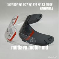 Kaca helm flat /flat visor/ Visor flat /kyt rc 7/kyt r10 /kyt k2 rider