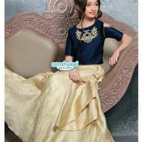 SIZE BESAR sari india baju lebaran anak perempuan pakaian anak impor