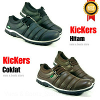 sepatu pria casual kickers sport murah running kasual sneakers slop GO
