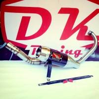 Knalpot Racing Yamaha New Vixion Werkes Usa Fulsystem High Peforma