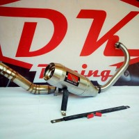 Knalpot Racing Yamaha New Vixion Werkes Usa Titan Fulsystem